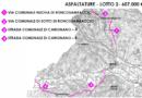 Iniziati a Fano i lavori di asfaltatura a Carignano e Roncosambaccio