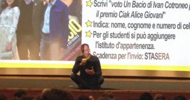 Ivan Cotroneo ha incontrato i giovani di Senigallia