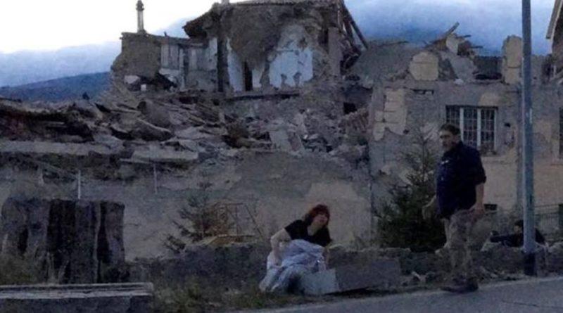 Marche in ginocchio, più di venti morti ad Arquata del Tronto