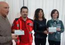 FALCONARA / Consegnati gli assegni di beneficenza di Sapori d'autunno 2016 a Croce Gialla e Gasph
