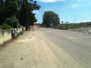 Lavori ciclabile Borgo Bicchia - Tra Vallone e Bettolelle una strada pericolosa che va sistemata