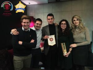 Il rappresentante del Distretto 2090 Marcello Milano in visita al Rotaract di Senigallia