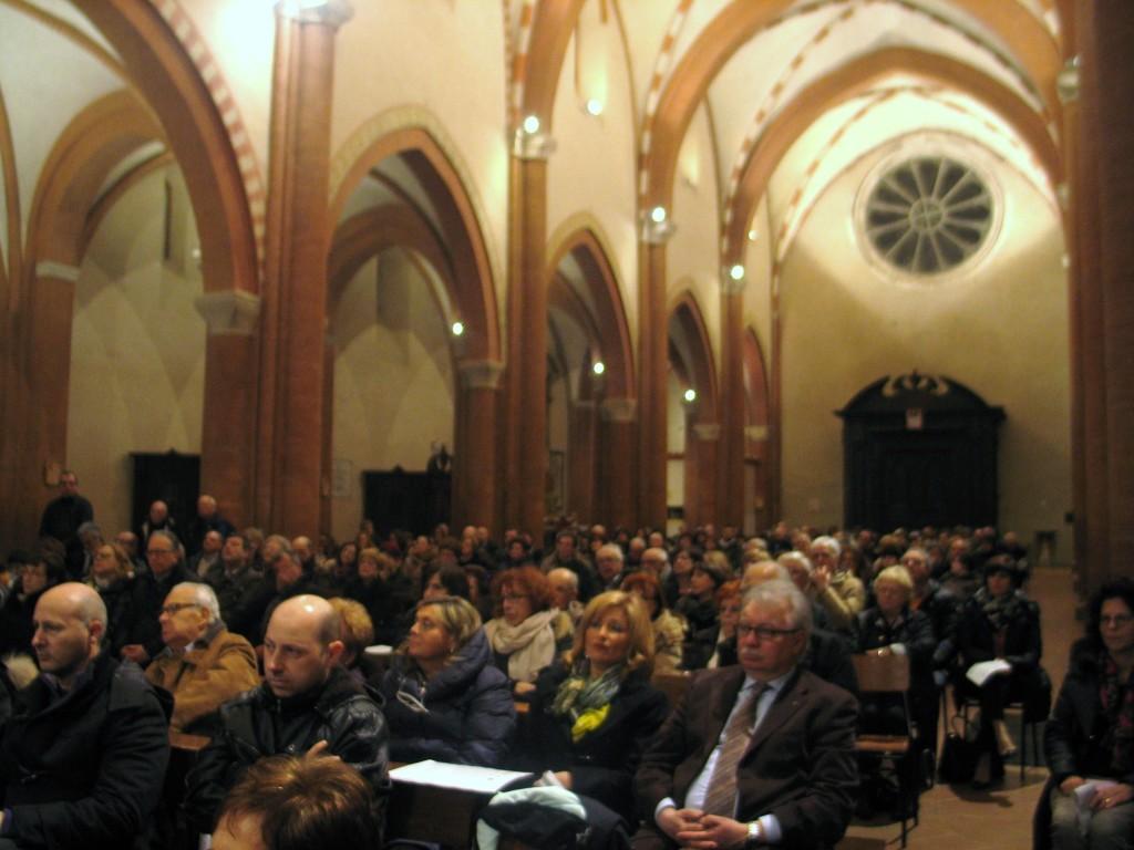 A Chiaravalle Abbazia piena per Coralmente Rotary