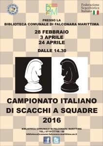 A Falconara gara a squadre di scacchi
