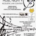 Venerdì a Fano il gran finale di Music Night 4