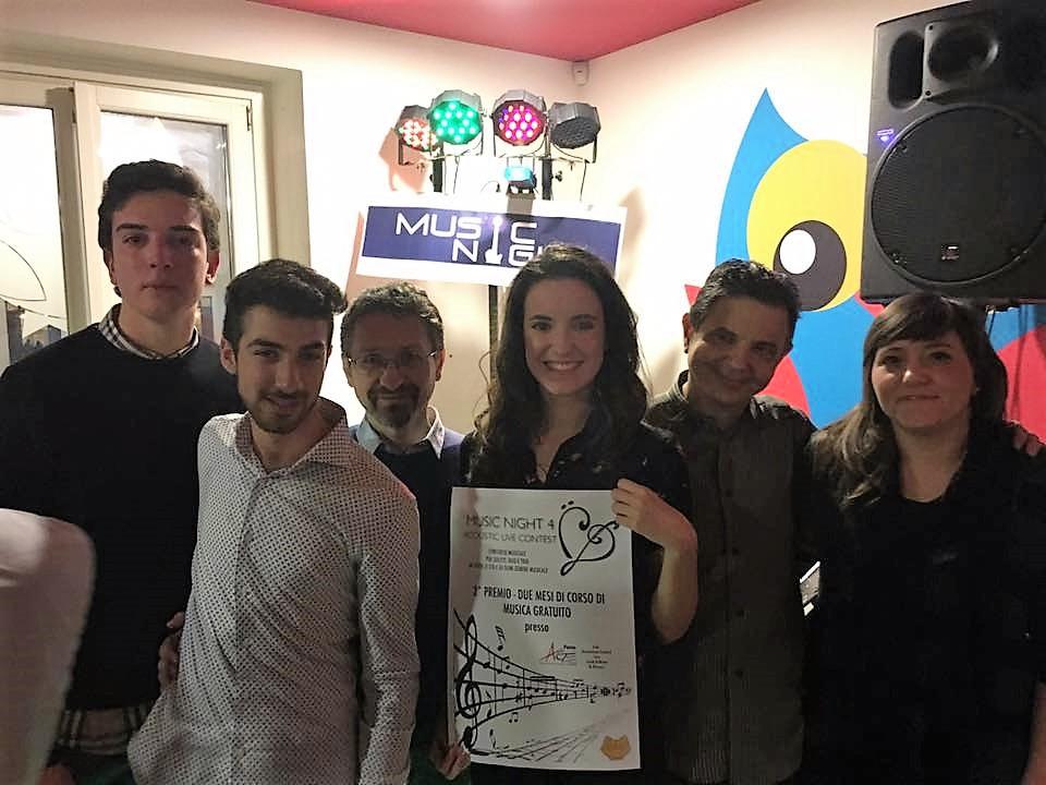 Gli Om vincono il concorso Music Night 4 di Fano