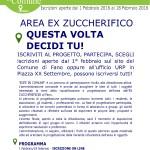 Un progetto per l'area dell'ex zuccherificio di Fano