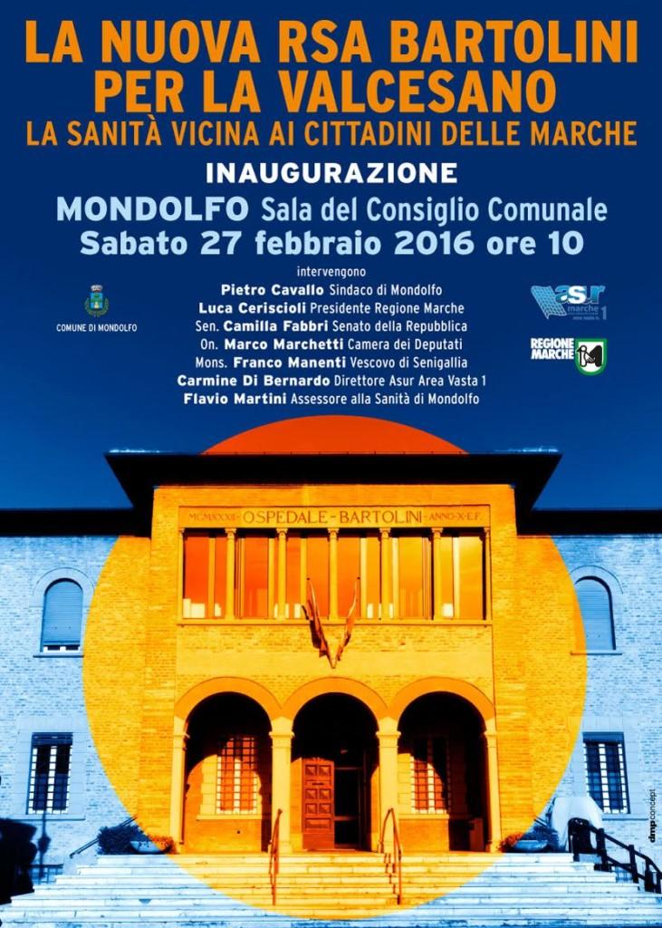 Sabato l'inaugurazione della Casa della Salute di Mondolfo