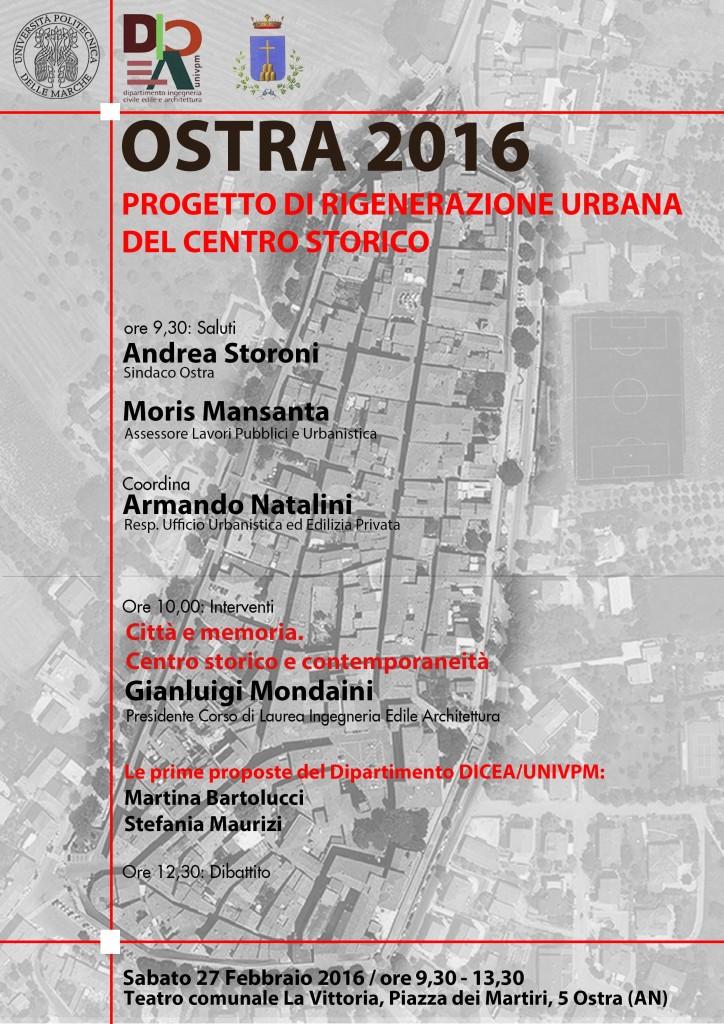 A Ostra un progetto di rigenerazione urbana