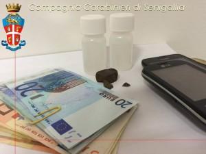 Senigalliese arrestato per spaccio di droga