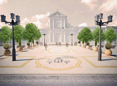 Respinta la petizione contro gli stemmi papali in piazza