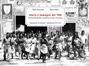 A Pesaro un'autobiografia collettiva di San Costanzo