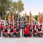 L'Araba Fenice di Corinaldo all'apertura dei giochi paralimpici