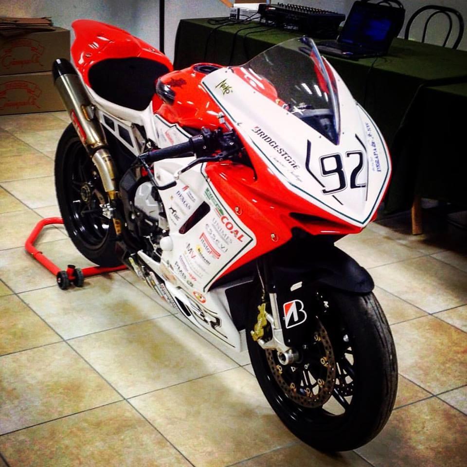 Presentata a Corinaldo la nuova moto di Nicholas Luzzi