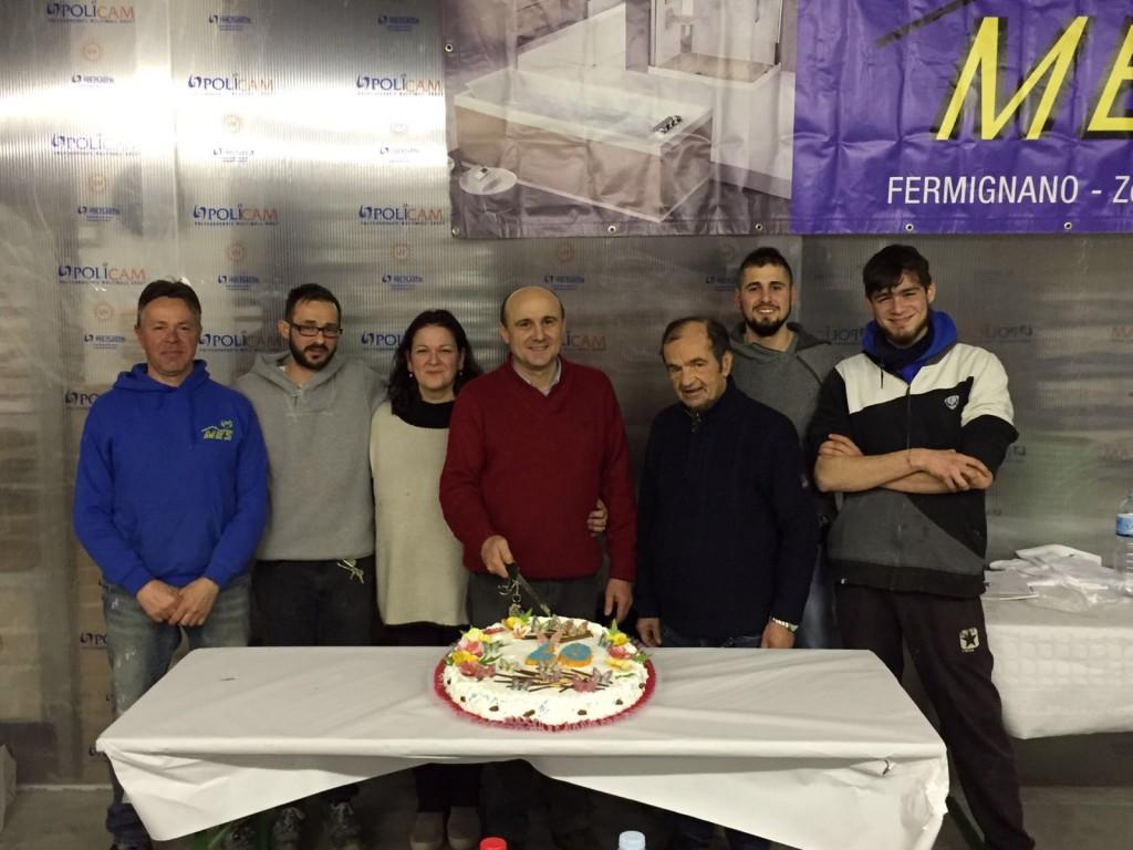 La Mes di Regini festeggia 40 anni di attività