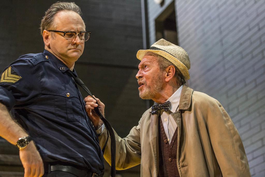 Umberto Orsini in scena a Jesi con Il prezzo di Arthur Miller