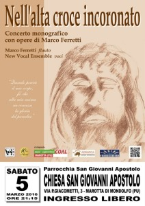 A Marotta e Fano due concerti del New Vocal Ensemble di Senigallia