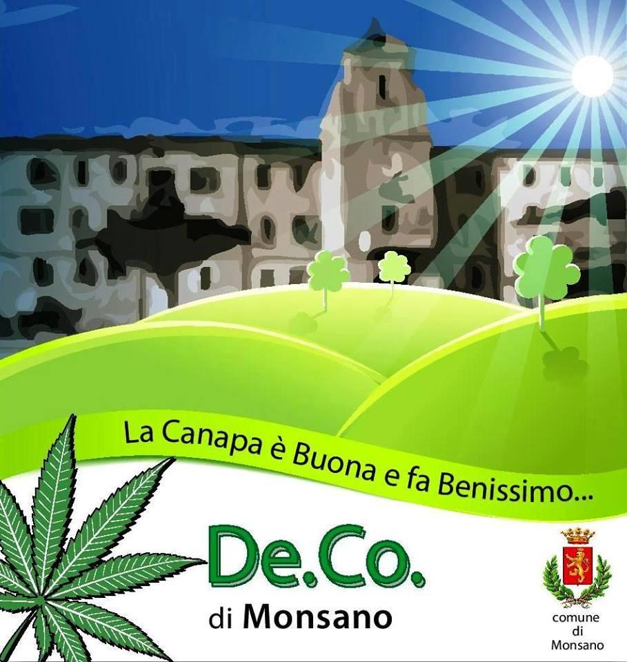 Monsano diventa il Borgo della Canapa