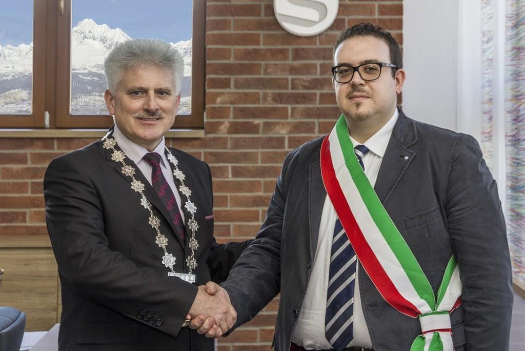 Gemellaggio tra San Lorenzo in Campo e Svit, l'ufficialità in Slovacchia