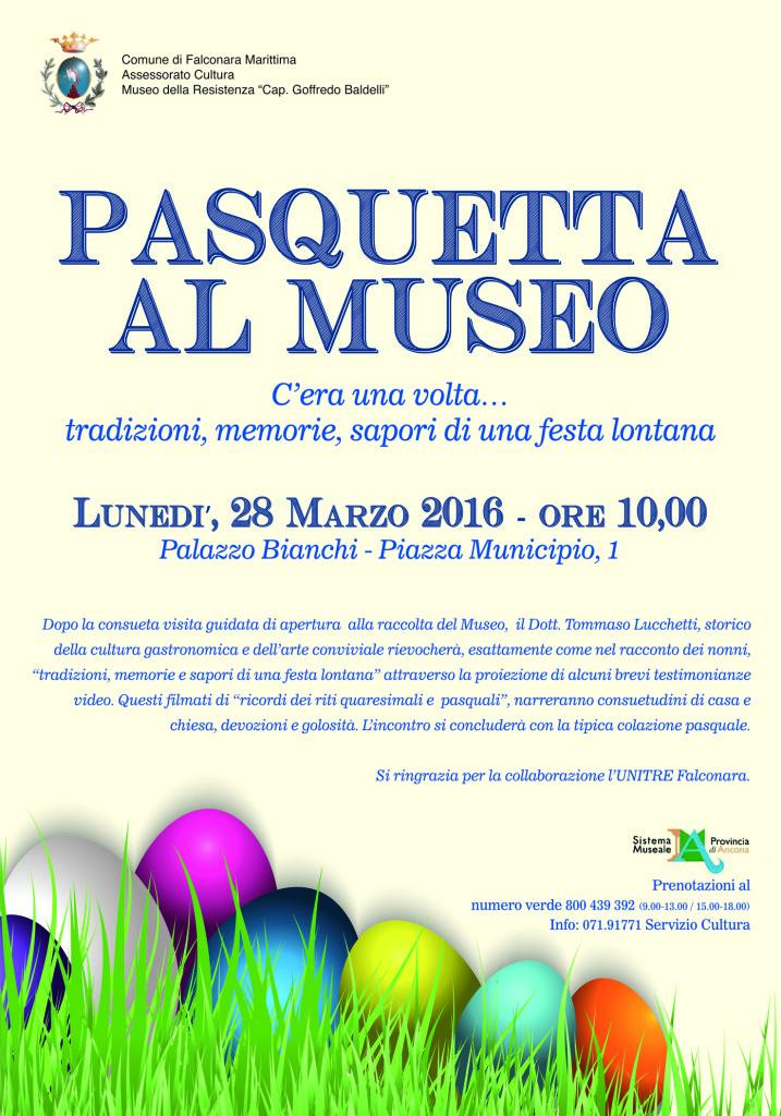 Pasquetta al Museo della Resistenza di Falconara