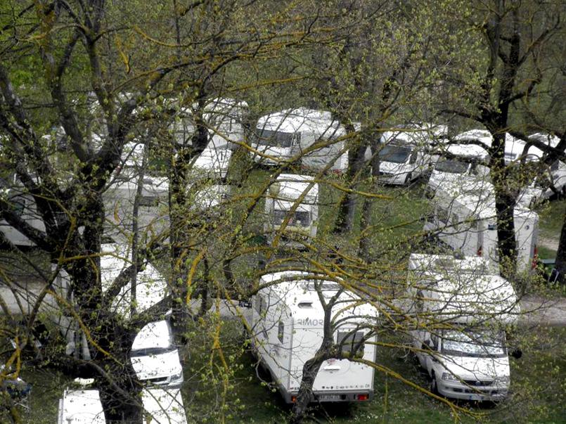 Pasqua in camper a Pergola, nuovo raduno nella città dei Bronzi