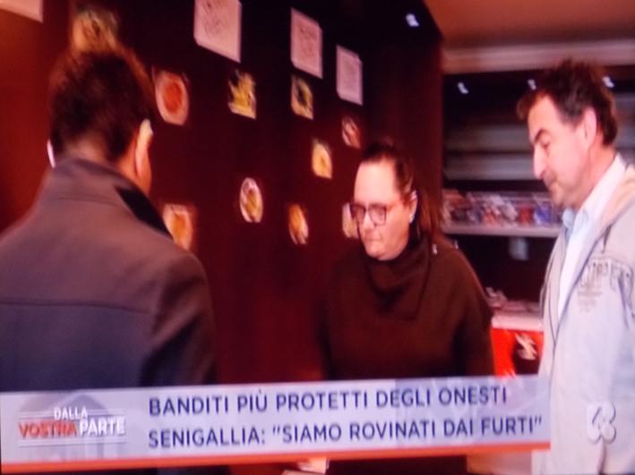 Troppi furti a Senigallia, l'allarme sicurezza lanciato in diretta tv