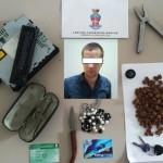 Ruba nelle auto in sosta, arrestato giovane rumeno