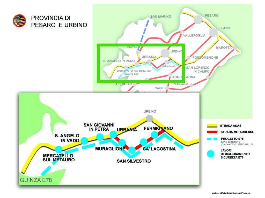 """Tagliolini: """"Ponte dei Conciatori e Fano – Grosseto. Il territorio è pronto"""""""