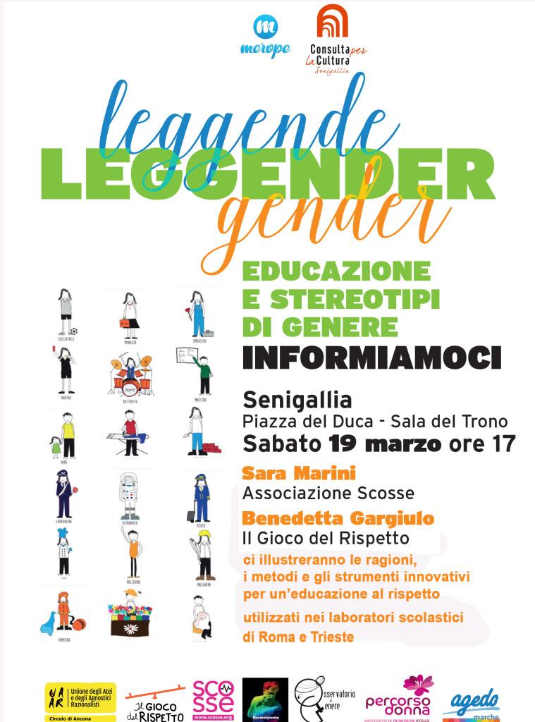 Leggender, educazione e stereotipi di genere: informiamoci