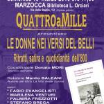 Le donne romane dell'800 dei sonetti del Belli protagoniste a Marzocca