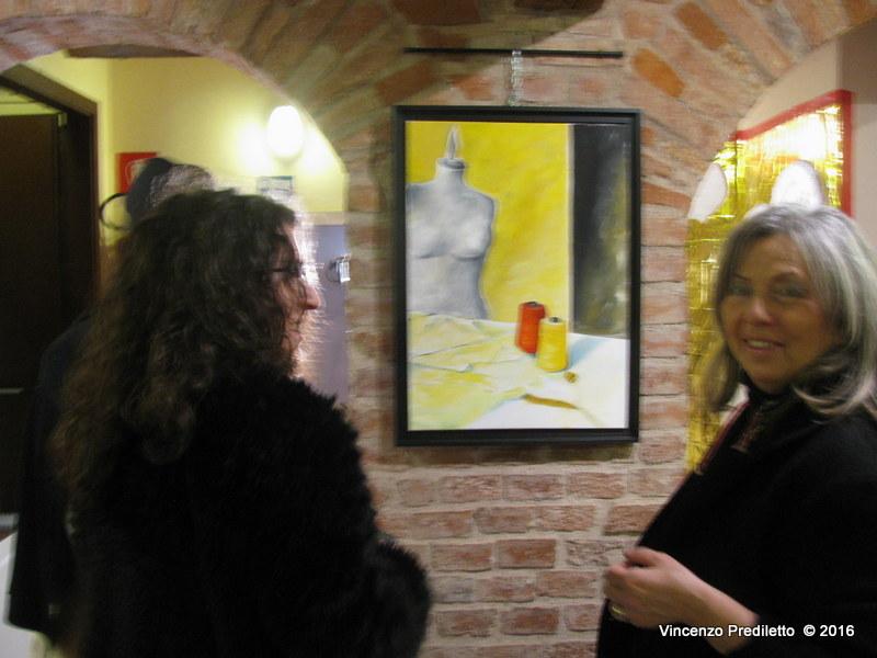 """Buona affluenza di pubblico per la mostra """"La Donna e le sue Arti"""""""