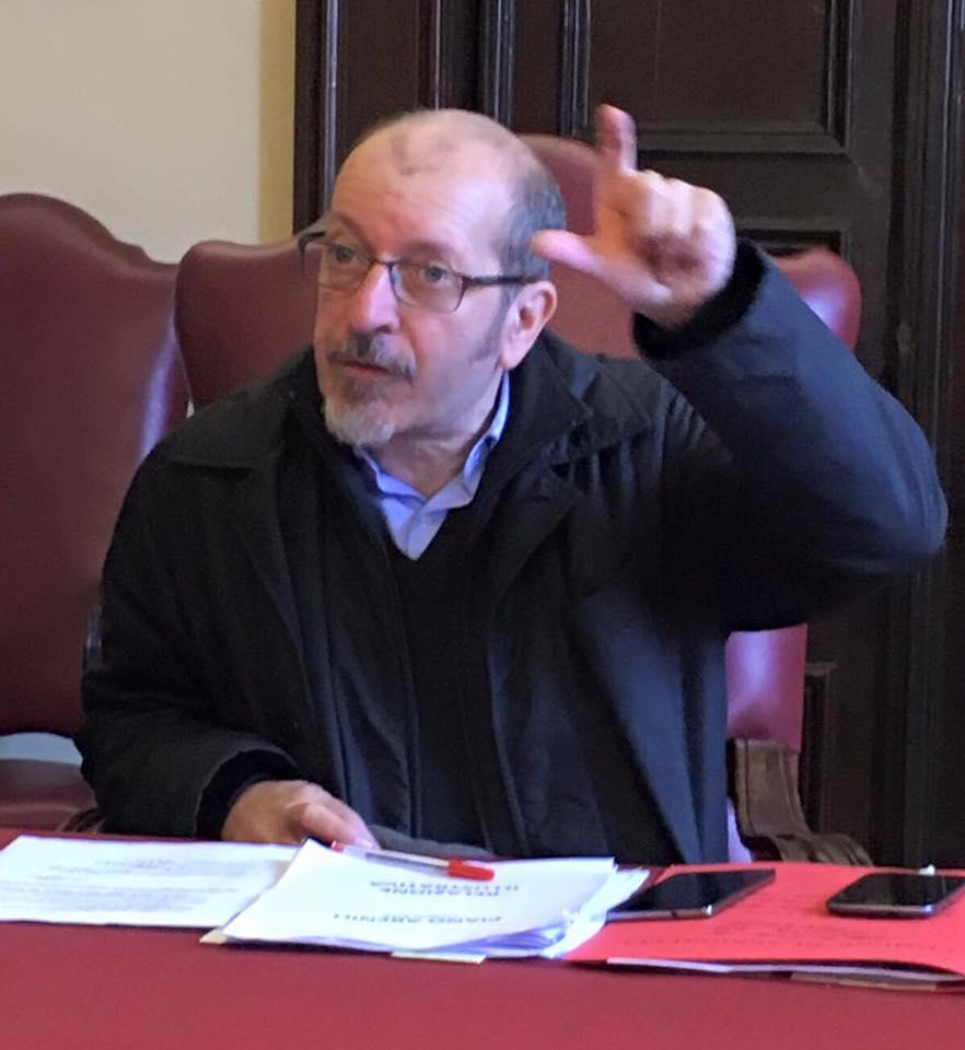Dario Vergassola alla Rocca di Senigallia per Sky Arte