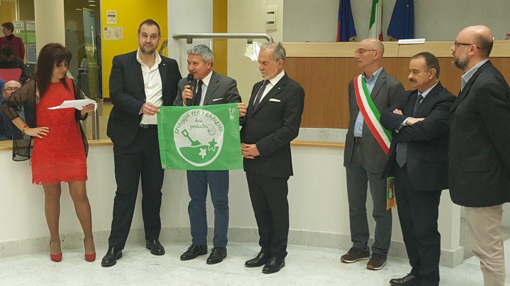 A Fano sventola anche la Bandiera Verde