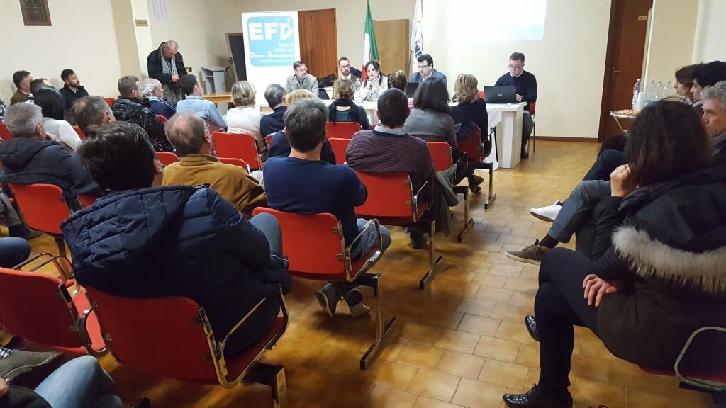 Full immersion a Marotta sui finanziamenti europei