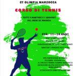 A Senigallia un corso di tennis per ragazzi