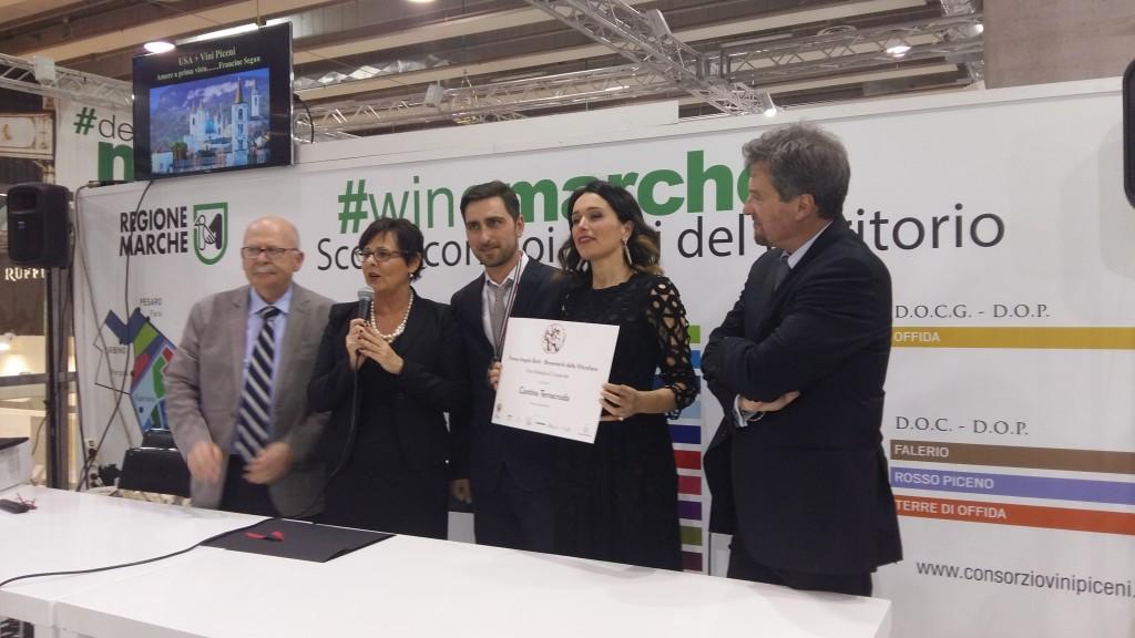 Al Vinitaly il Premio Cangrande assegnato a Terracruda