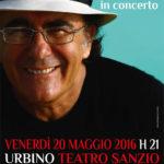 Al Bano è di parola, concerto gratuito a Urbino