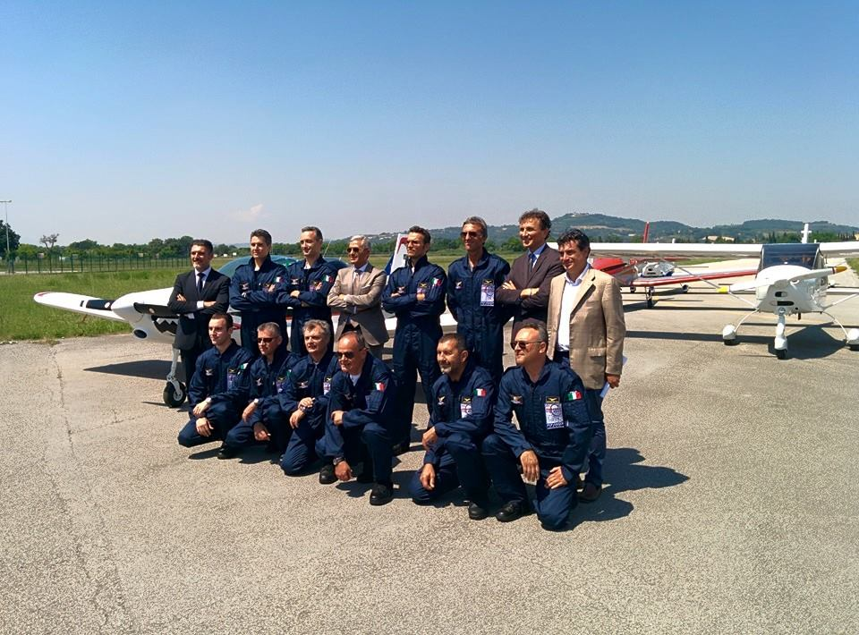 Il Fly Fano Team ospite dell'Aeronautica Militare