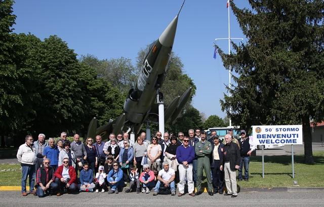 Visita del Gruppo Aviatori Senigalliesi ai musei dell'Agusta e Volandia