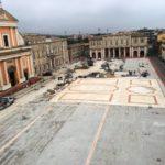 Ultimi interventi per la riqualificazione di piazza Garibaldi