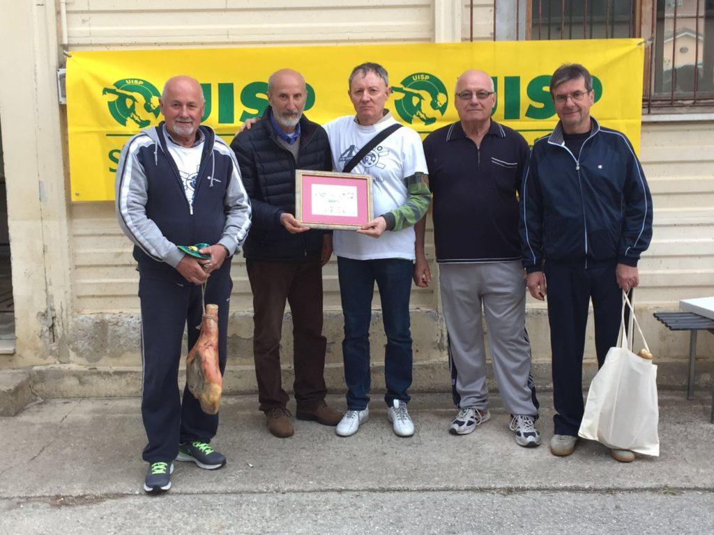 La Bocciofila Passo Ripe trionfa nel Palio Uisp 2016