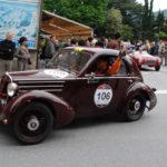Anche Corinaldo si prepara ad ospitare la 1000 Miglia, la corsa di auto d'epoca più bella del mondo