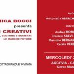 """Ad Arcevia la presentazione del libro """"Paesaggi creativi"""""""