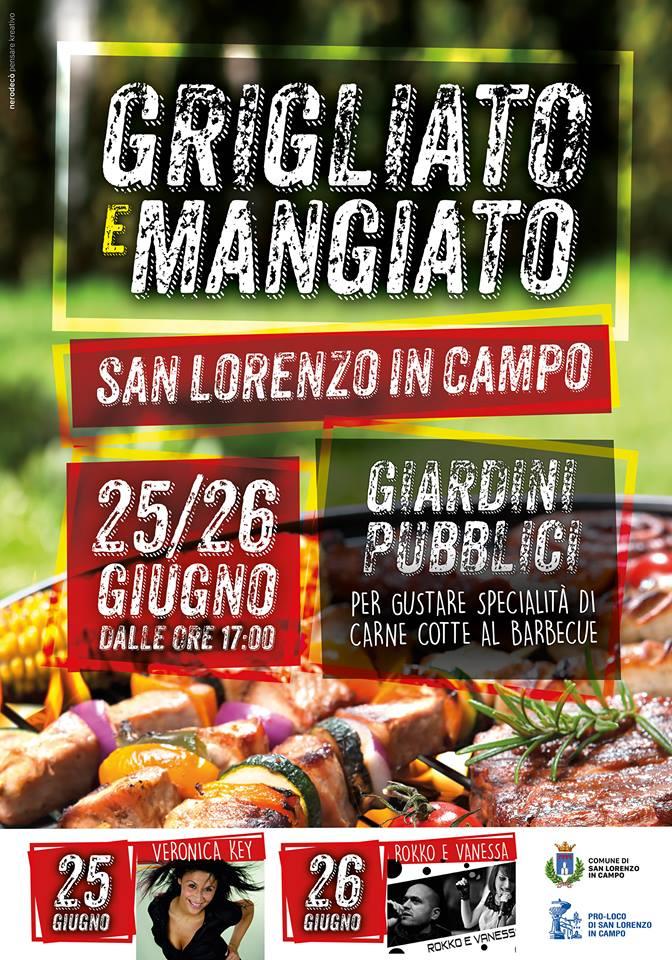 """A San Lorenzo in Campo """"Grigliato e mangiato"""" raddoppia"""