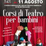 Corsi di  teatro estivo al Nuovo Melograno di Senigallia