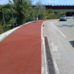 Quasi pronta la nuova pista ciclabile da Borgo Bicchia al centro di Senigallia