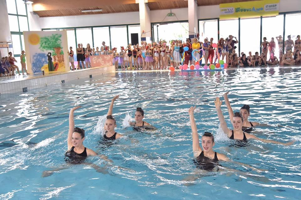I campionati nazionali Uisp di nuoto sincronizzato lasciano il segno