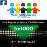 Tennistavolo, il 5×1000 per il progetto di Servizio Civile