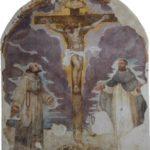 Nella Pinacoteca di Jesi l'affresco della chiesetta di Colle Paradiso
