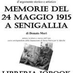 """A IoBook la presentazione di """"Memorie del 24 Maggio 1915 a Senigallia"""""""